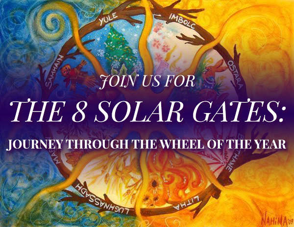 The 8 Solar Gates - Journey Through The Wheel of the Year